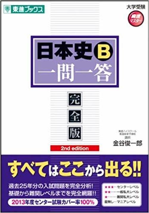 【日本史B一問一答】オリジナル確認テスト