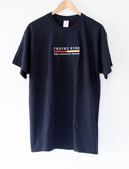 【TROPHY EYES】Stripe T-Shirts (Black)