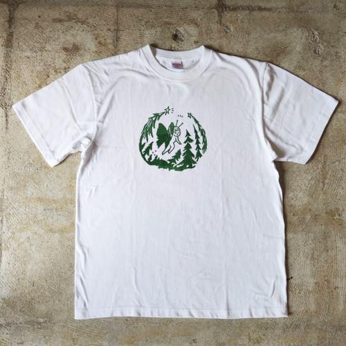 岩永ハナエ:オリジナルTシャツ《森と蝶々》vol.1