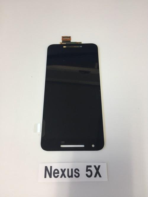 LG Nexus5X 修理用 フロントディスプレイガラス+液晶(LCD)+タッチパネル