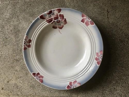 フランスブロカント SAONE花柄のお皿