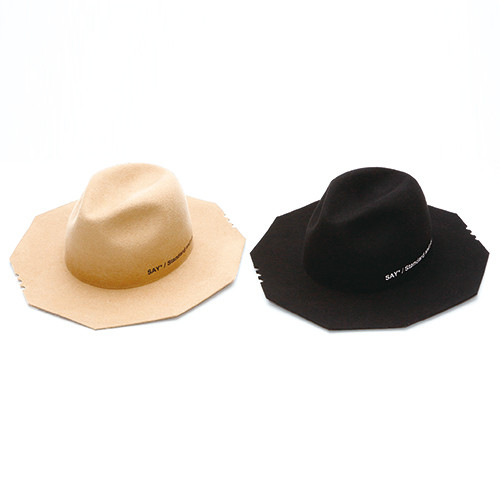 SAY/セイ POLYGON WIDE BRIM HAT