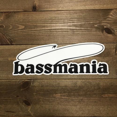 bassmania logo ボートカーペットデカール [small]