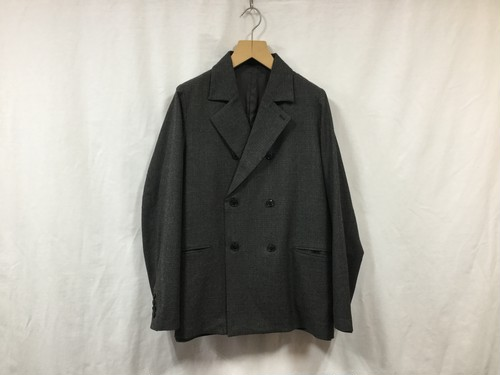"bukht""NOCHED LAPEL JACKET BLACK"""
