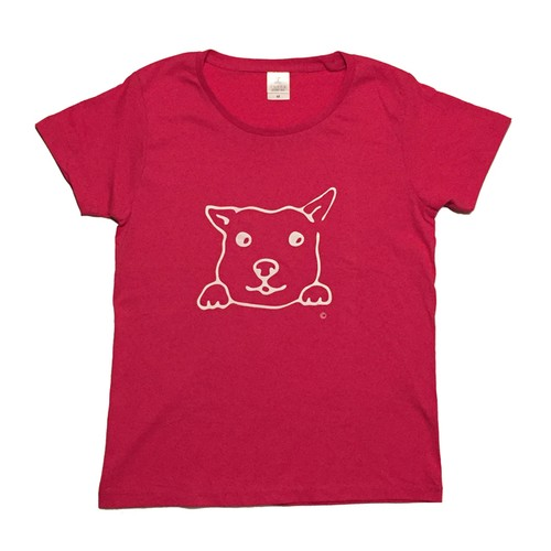 犬Tシャツ M レディース