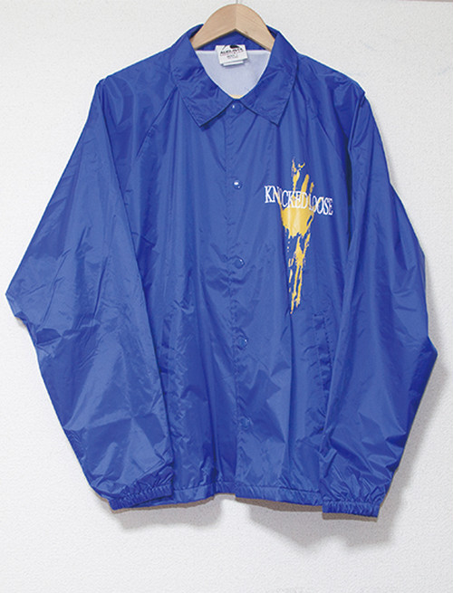 【KNOCKED LOOSE】Hand Windbreaker (Royal Blue)