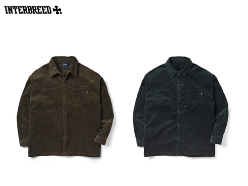 INTERBREED|Wide Range Corduroy Shirt