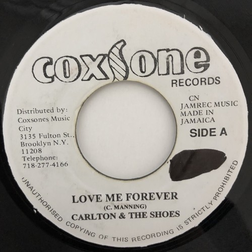 Carlton And The Shoes ‎- Love Me Forever【7-20478】
