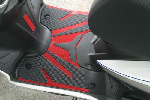 YAMAHA シグナスX(SE44J 2013年モデル〜) SBカーボンシート レッド