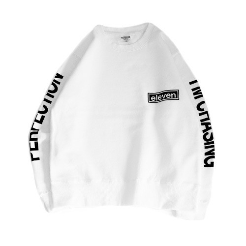 ARM LOGO SWEAT / WHITE