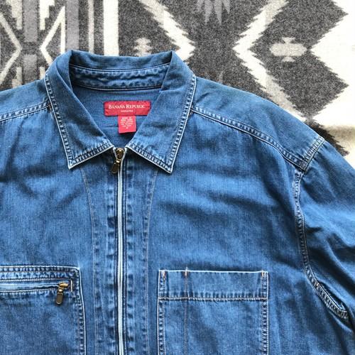 バナナリパブリック 90s デニム シャツ ジャケット