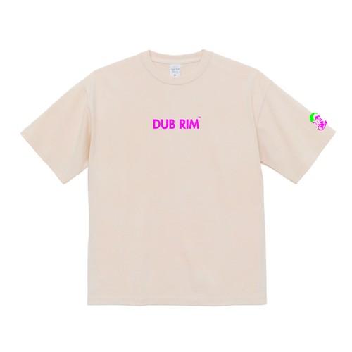 DUB RIM REBOUND マグナムウェイト ビッグシルエット Tシャツ/ヴィンテージナチュラル
