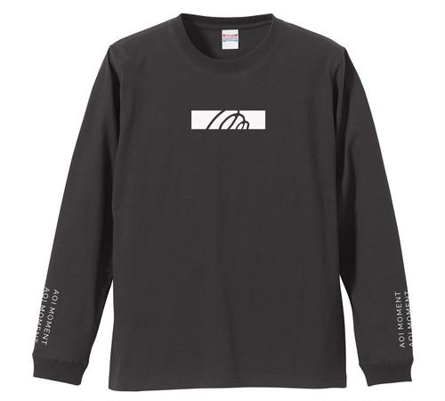 ロゴデザイン ロングスリーブTシャツ【SUMI】