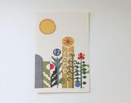 post card / Les fleurs