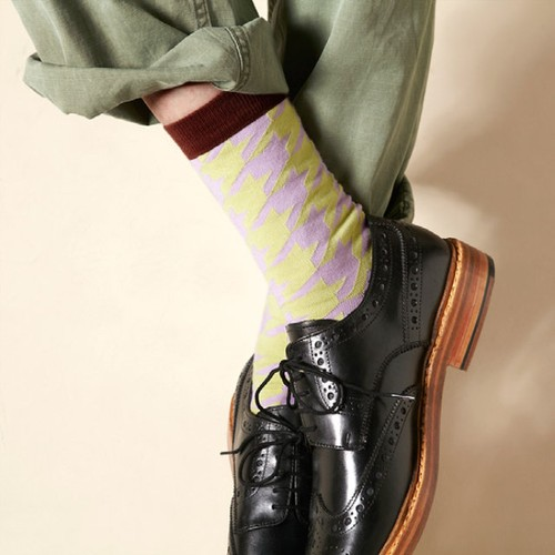 Hunter | 狩猟家 靴下 ソックス 日本製 117902 【London shoe make THE SOCKS ロンドンシューメイク】