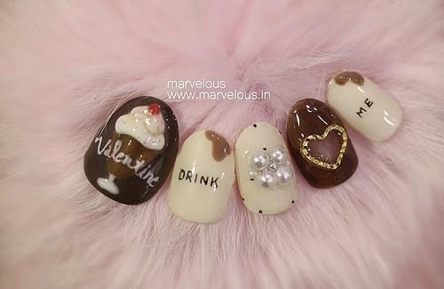 Marvelous Valentine nail