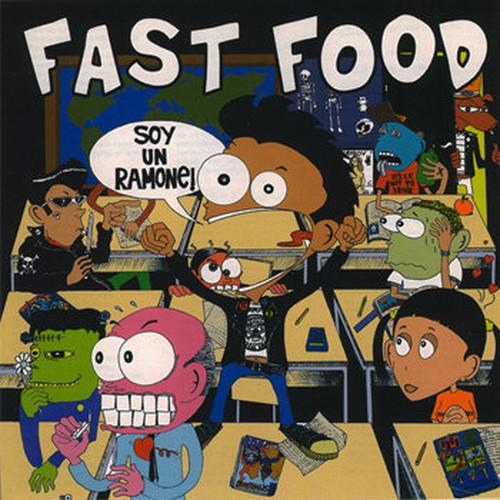 "fast food / soy un ramone 12"""