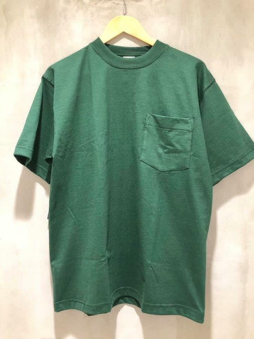 CAMBER - MAX-WEIGHT POCKET S/S TEE - green
