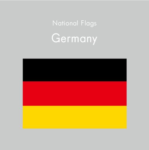 国旗ステッカー ドイツ