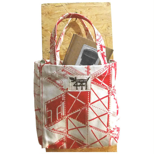 tote bag / small / scaffolding#02