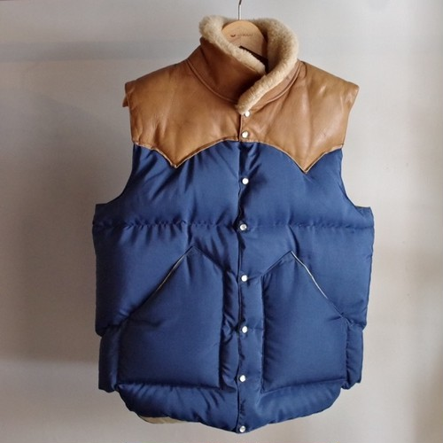 """Dead Stock? 1970s Rocky Mountain Featherbed """"CHRISTY VEST"""" Size 40"""