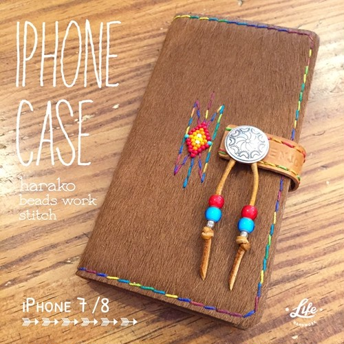 iPhone7/8 CASE / harako&beadswork
