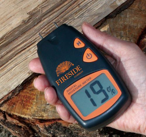 ピーヴィー ファイヤーサイド デジタル含水率計 Fireside Digital Moisture Meter