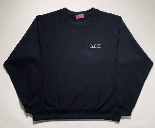 A.G.H HOTTOWNHOMIE ONE POINT刺繍 SWEAT SHIRTS
