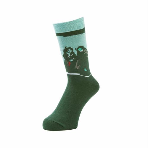 WHIMSY - SKE-BANG SOCKS (Green)