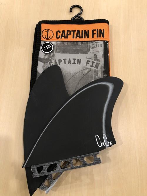 CAPTAIN FIN キャプテンフィン CHRIS CHRISTENSON TWIN KEEL ESPECIAL ST BLACK/WHITE