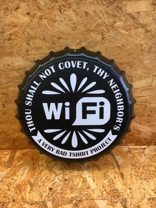 クラウンキャップ WiFi インテリア ブリキ