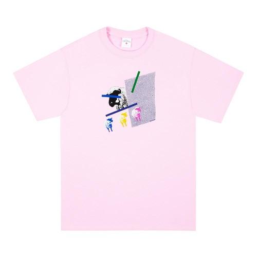 Animal Censorship Tee(Pink)