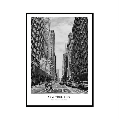 """NEW YORK CITY"" US - POSTER [SD-000593] A4サイズ ポスター単品"