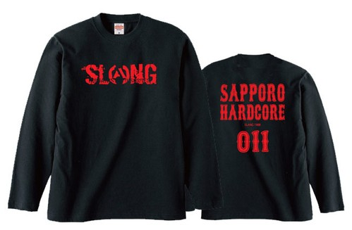 S.C.H.C LOGO : 3【LONG SLEEVE : 黒ボディ】