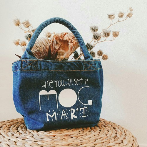 MMO-Denim tote bag (s)