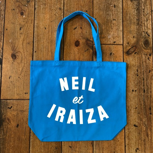 (SALE&送料無料) Neil and Iraiza BLUE LARGE TOTE
