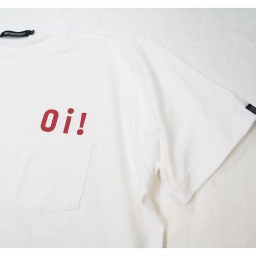 Oi! POCKET T-SHIRT  White