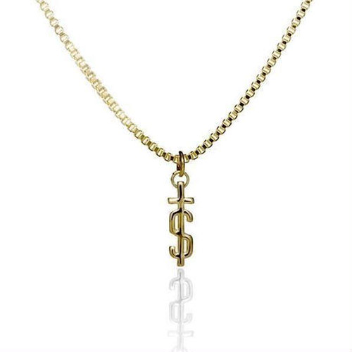 EL SENOR / 'S-CROSS' PENDANT - Gold Plated