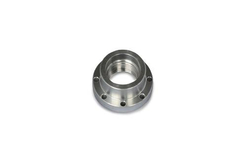 """アルミフェイスプレート φ60mm 1-1/4""""×8tpi"""