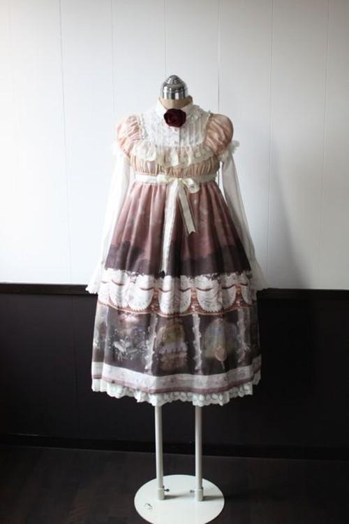 ハイウエストドレス