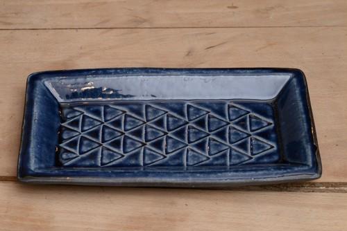 室生窯 角皿 1712MU-10