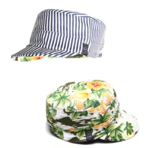 quolt / REVERSIBLE CAP / HICKORY-STRIPE