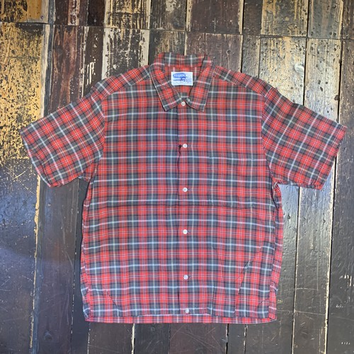 50〜60s PILGRIM ピルグリム 半袖シャツ チェック M ヴィンテージシャツ