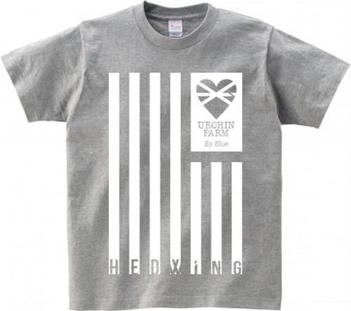 HEDblue翼を授ける Tシャツ (グレー)
