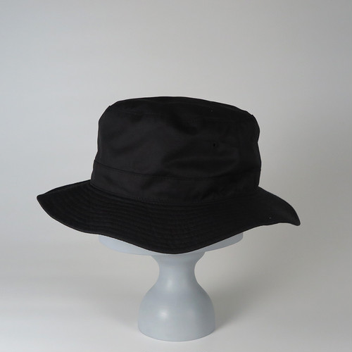 SS20-BD-6 Supima Cotton W-Face Hat BLK