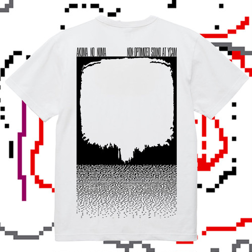 【T-shirt & cassette】悪魔の沼(AKUMA NO NUMA) - NON​-​OPTIMIZED SOUND sound tectonics #21 at YCAM (bbF)