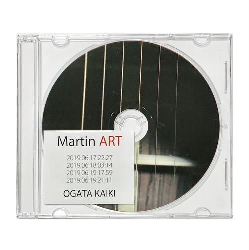 尾形回帰ソロ音源「Martin ART」