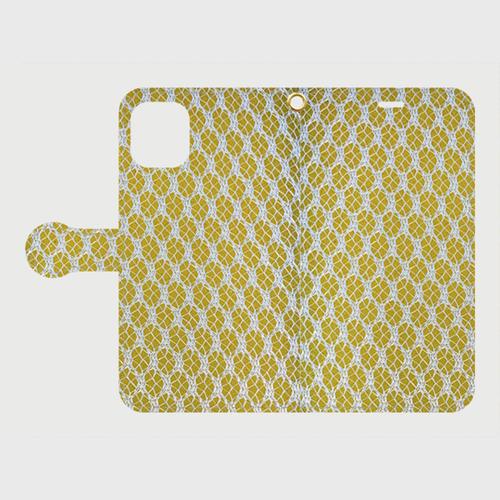 食器洗いスポンジ手帳型スマホケース for iPhone11(送料無料)