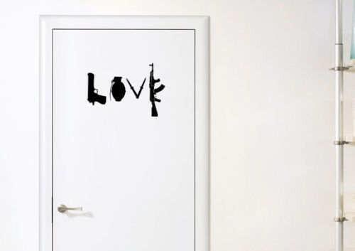 ウォール アートステッカ 【並行輸入品】LOVE
