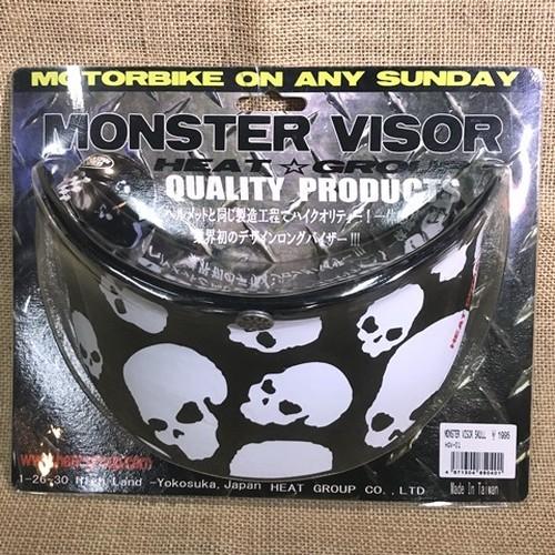 MONSTER VISOR モンスターバイザー / SKULL スカル